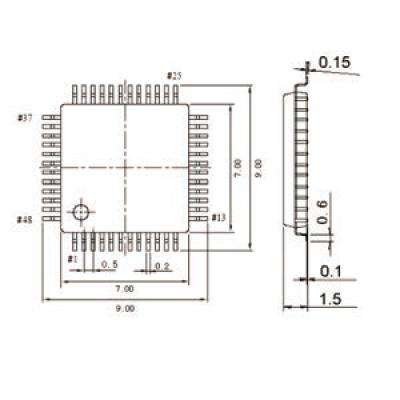 带传感器模拟信号处理电路 32bit MCU